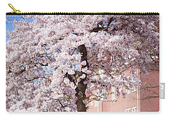 In Its Glory. Pink Spring In Amsterdam Carry-all Pouch