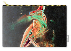 Carry-all Pouch featuring the painting In Jest by Jacqueline McReynolds