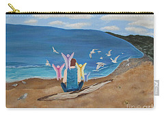 In Meditation Carry-all Pouch by Cheryl Bailey