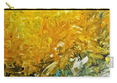 Carry-all Pouch featuring the painting In My Magic Garden by Joan Reese