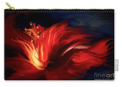 In Red Carry-all Pouch by Shanina Conway