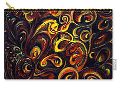 Carry-all Pouch featuring the painting In Search Of  Ultimate Truth by Harsh Malik