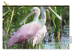 Carry-all Pouch featuring the photograph In The Bayou #2 by Betty LaRue