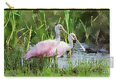 Carry-all Pouch featuring the photograph In The Bayou #3 by Betty LaRue