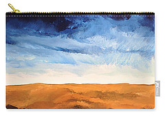 Carry-all Pouch featuring the painting In The Distance by Linda Bailey