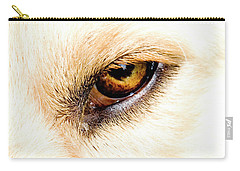 Carry-all Pouch featuring the photograph In The Eyes.... by Rod Wiens