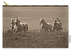 Carry-all Pouch featuring the photograph In The Field D5959 by Wes and Dotty Weber