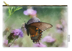 Carry-all Pouch featuring the photograph In The Flowers by Kerri Farley