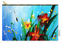 In The Garden Carry-all Pouch by Kume Bryant