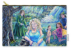 In The Garden Of The Goddess Carry-all Pouch