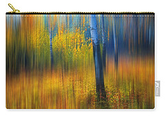 In The Golden Woods. Impressionism Carry-all Pouch