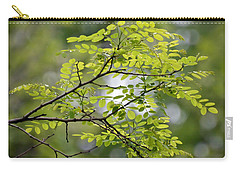 Carry-all Pouch featuring the photograph In The Green by Kerri Farley