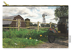 Carry-all Pouch featuring the digital art In The Heartland by Jayne Wilson