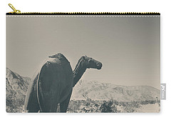 In The Hot Desert Sun Carry-all Pouch by Laurie Search