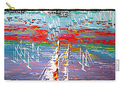 In The Lead - Sold Carry-all Pouch by George Riney