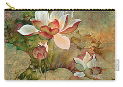 In The Lotus Land Carry-all Pouch