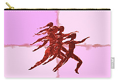 In The Pink Carry-all Pouch by Mary Armstrong