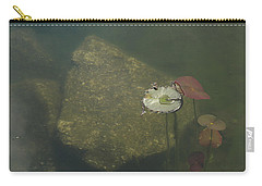 Carry-all Pouch featuring the photograph In The Pond by Carol Lynn Coronios