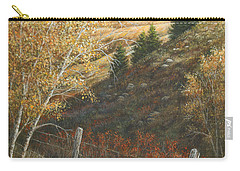 In The Shadow Of Belt Butte Carry-all Pouch by Kim Lockman