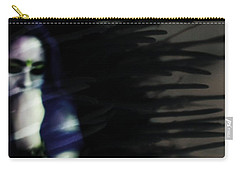 Carry-all Pouch featuring the photograph In The Shadows Of Doubt  by Jessica Shelton