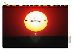 Carry-all Pouch featuring the photograph In The Sun by Paul Job
