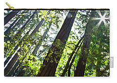 In The Woods Carry-all Pouch by Ana V Ramirez