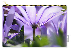 Floral Purple Light  Carry-all Pouch