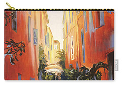 In Town Of Saint Tropez Carry-all Pouch