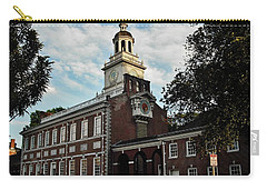 Independence Hall Carry-all Pouch by Ed Sweeney
