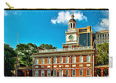 Independence Hall Carry-all Pouch by Nick Zelinsky