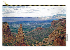 Independence Monument In Colorado National Monument Near Grand Junction-colorado Carry-all Pouch