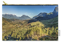 Index Mountains Panorama Carry-all Pouch