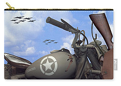 Indian 841 And The B-17 Panoramic Carry-all Pouch