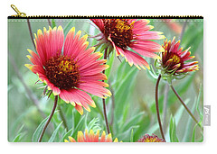 Indian Blanket Wildflowers Carry-all Pouch