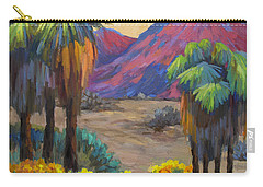 Indian Canyon In Spring Carry-all Pouch