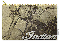 Indian Motorcycle Poster Carry-all Pouch