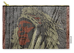 Indian Motorcycle Postertextured Carry-all Pouch