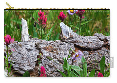 Carry-all Pouch featuring the photograph Indian Paintbrush by Ronda Kimbrow