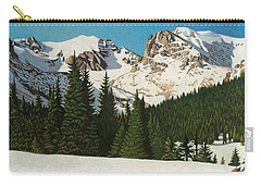 Indian Peaks Winter Carry-all Pouch by Dan Miller