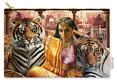 Indian Princess Carry-all Pouch by Andrew Farley
