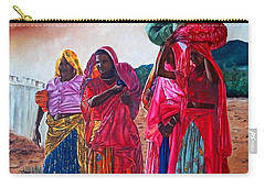 Indian Women Carry-all Pouch