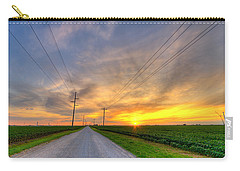 Indiana Sunset Carry-all Pouch