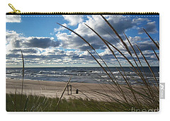 Indiana Dunes' Lake Michigan Carry-all Pouch by Pamela Clements
