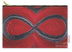 Infinite Love By Jrr Carry-all Pouch by First Star Art