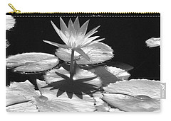 Infrared - Water Lily 02 Carry-all Pouch by Pamela Critchlow