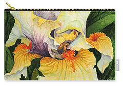 Carry-all Pouch featuring the painting Inner Beauty by Barbara Jewell