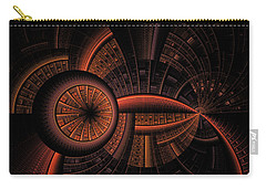 Carry-all Pouch featuring the digital art Inner Core by GJ Blackman