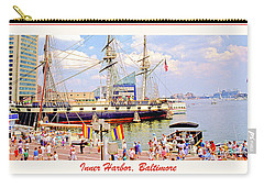 Inner Harbor Baltimore Maryland Carry-all Pouch