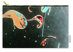 Carry-all Pouch featuring the painting Inner Space by Jacqueline McReynolds
