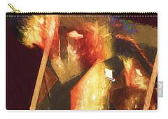 Inner Turmoil Digital Oil Painting Carry-all Pouch